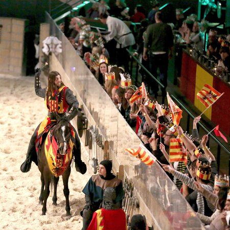 how accurate is a night at medieval times food wine