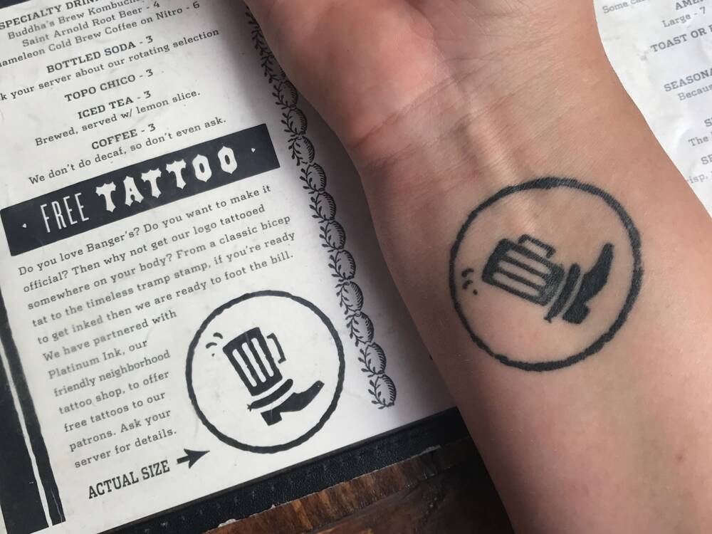 Thousands Of People Have This Restaurant Logo Tattooed On Their
