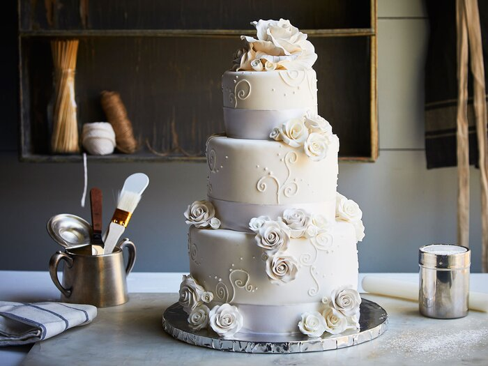 Duff goldman created a diy wedding cake kit for chefd food wine wedding cake done at home junglespirit Choice Image