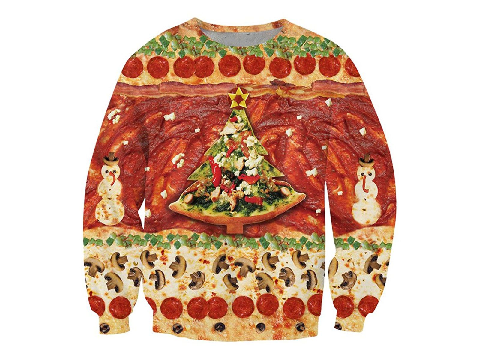 11 Food Themed Ugly Christmas Sweaters Serving Up Holiday Cheer