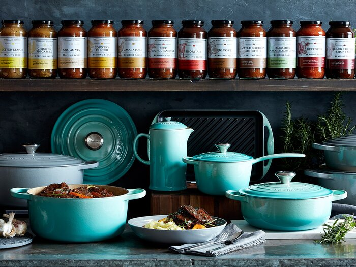 Mint Collection Of Le Creuset On Williams Sonoma