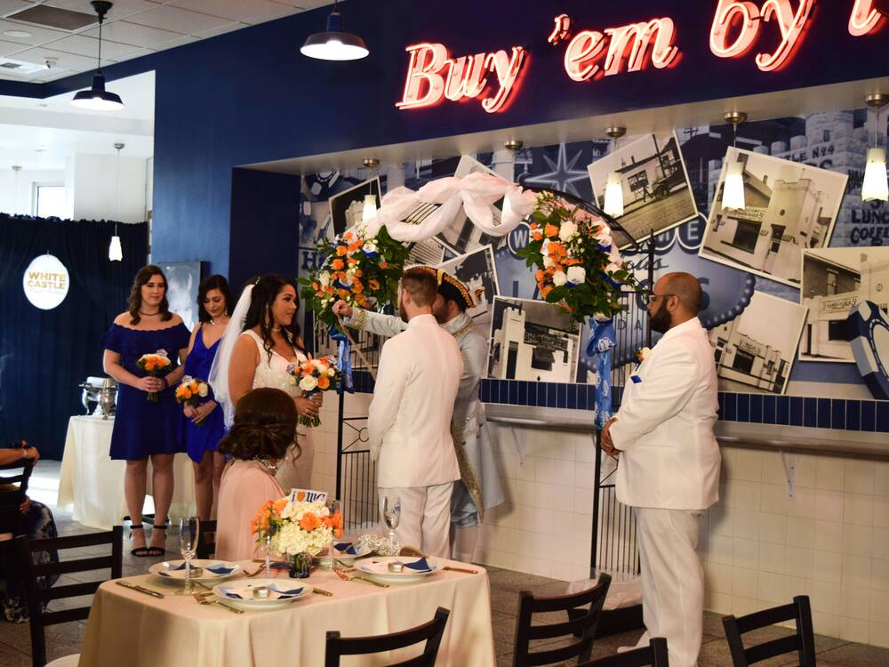 We Attended The First Ever White Castle Royal Wedding In Las Vegas