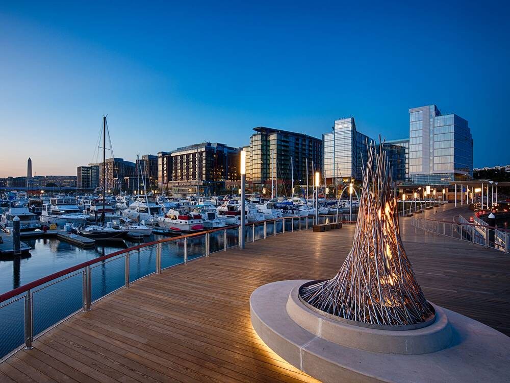 d c s surprisingly beachy waterfront is the city s best new eating