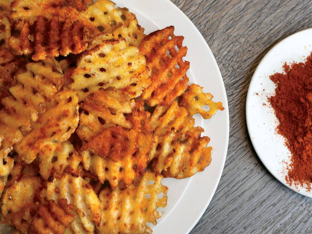 kwame s waffle fries recipe kwame onwuachi food wine