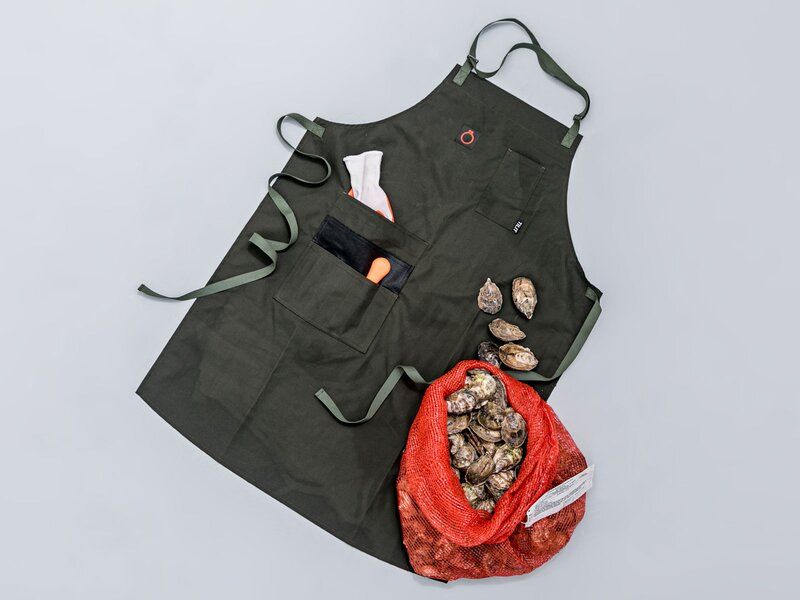 Ultimate Oyster Shucking Apron