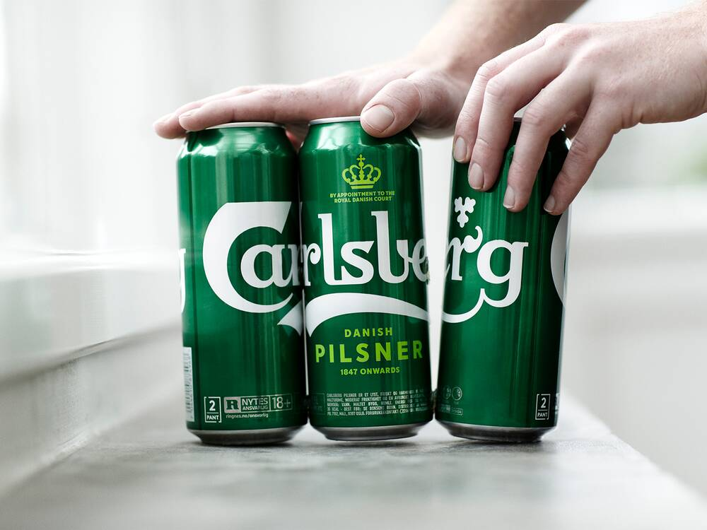 carlsberg solved the six pack packaging problem with glue food wine