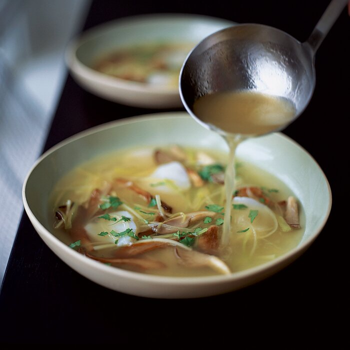 Scallop and mushroom soup with ginger and leeks recipe jean 200311 r scallop mushroom soupg forumfinder Choice Image