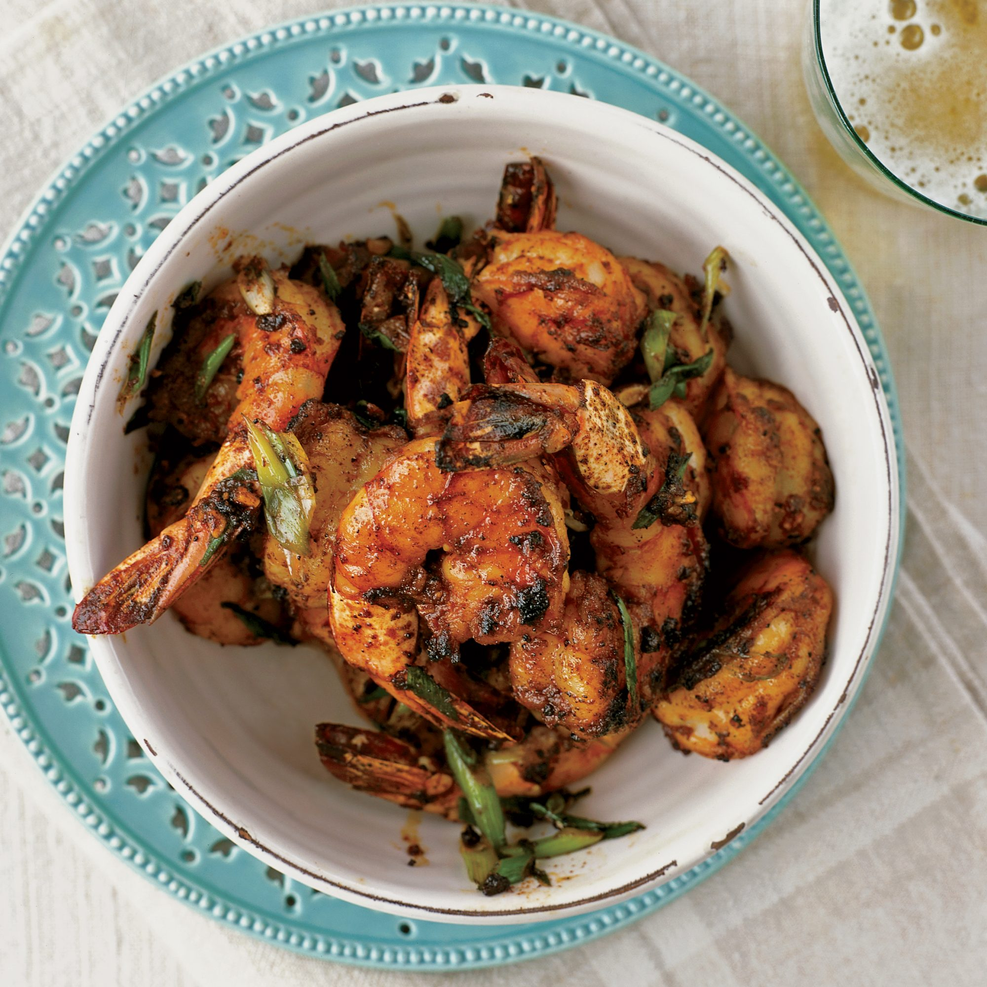 Peel And Eat Shrimp With Barbecue Spices Recipe Bobby Flay Food