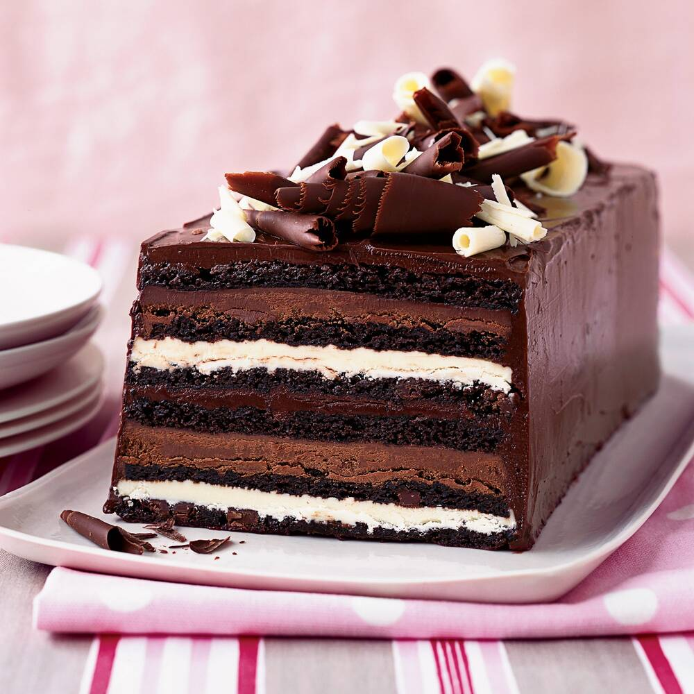 Chocolate Truffle Layer Cake Recipe Kimberly Sklar Food Wine