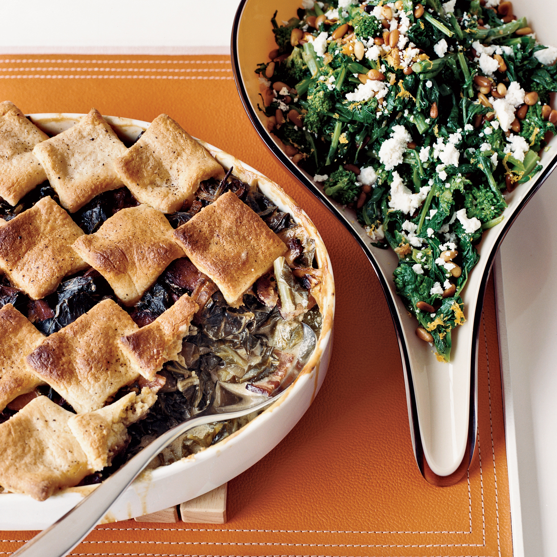 Collard Cobbler With Cornmeal Biscuits Recipe Grace Parisi Food