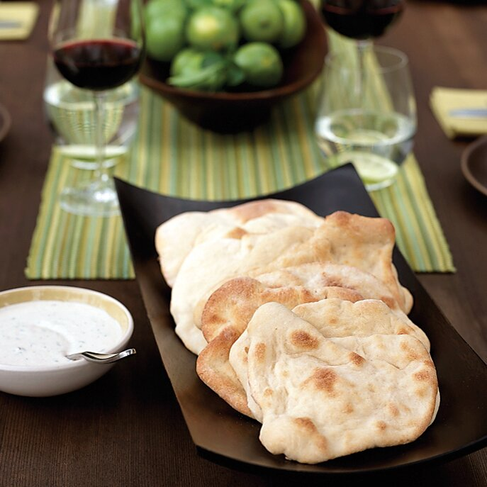 Syrian pita bread recipe chris hanna food wine fw200704pitabreadg forumfinder