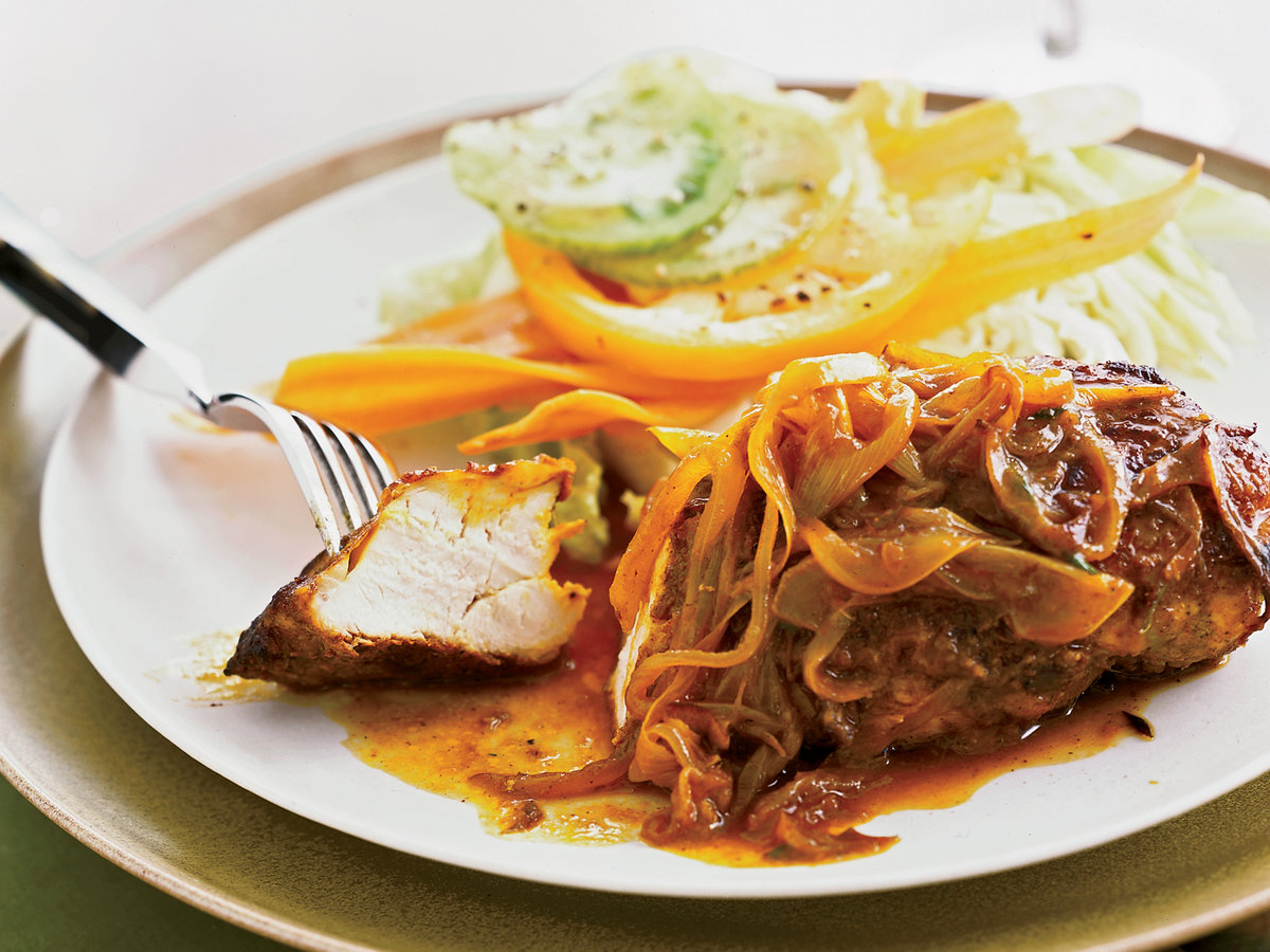 Pan Seared Chicken Breasts With Jamaican Curry Recipe Marcia