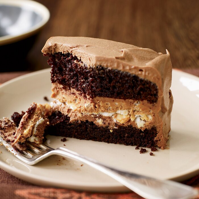 Crunchy Milk Chocolate Peanut Er Layer Cake