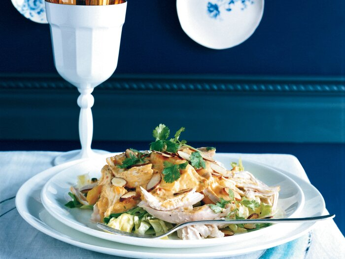 Coronation chicken salad with mangoes and almonds recipe tom coronation chicken salad with mangoes and almonds forumfinder Image collections