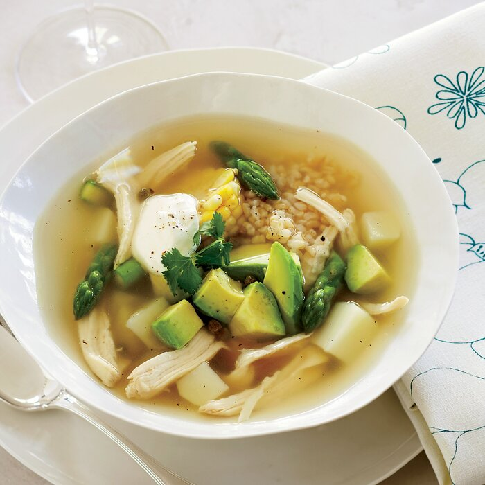 Colombian chicken soup recipe doris esther ayola orozco food wine forumfinder Images