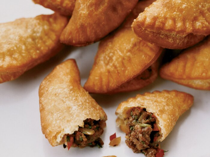Mini panamanian beef empanadas recipe charlie collins food wine forumfinder Image collections