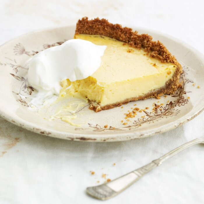 Lemon ice box pie recipe david guas food wine plemon ice box forumfinder Gallery