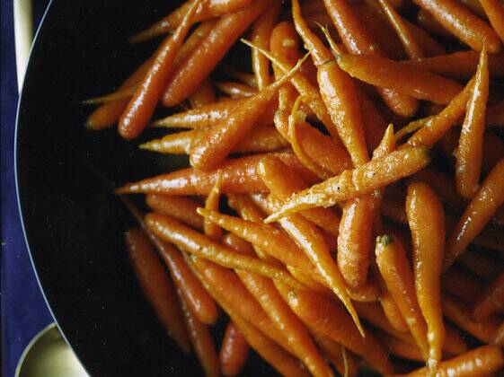 glazed carrots with cardamom and ginger recipe shawn mcclain
