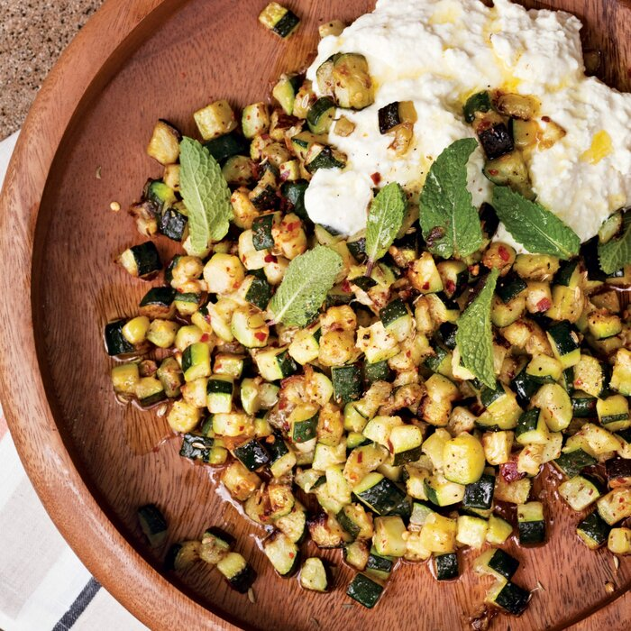 Roasted zucchini with ricotta and mint recipe sheamus feeley 201008 r roasted zucchinig forumfinder Choice Image