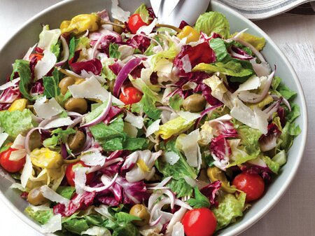 Big Italian Salad Recipe Grace Parisi Food Wine