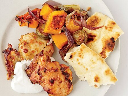 Curried Chicken And Vegetable Pan Roast