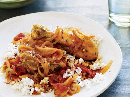 Spice Braised Chicken Legs With Red Wine And Tomato Recipe
