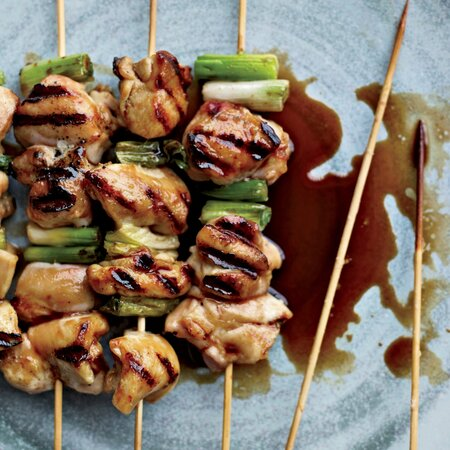 Chicken Yakitori Recipe Andrew Zimmern Food Wine