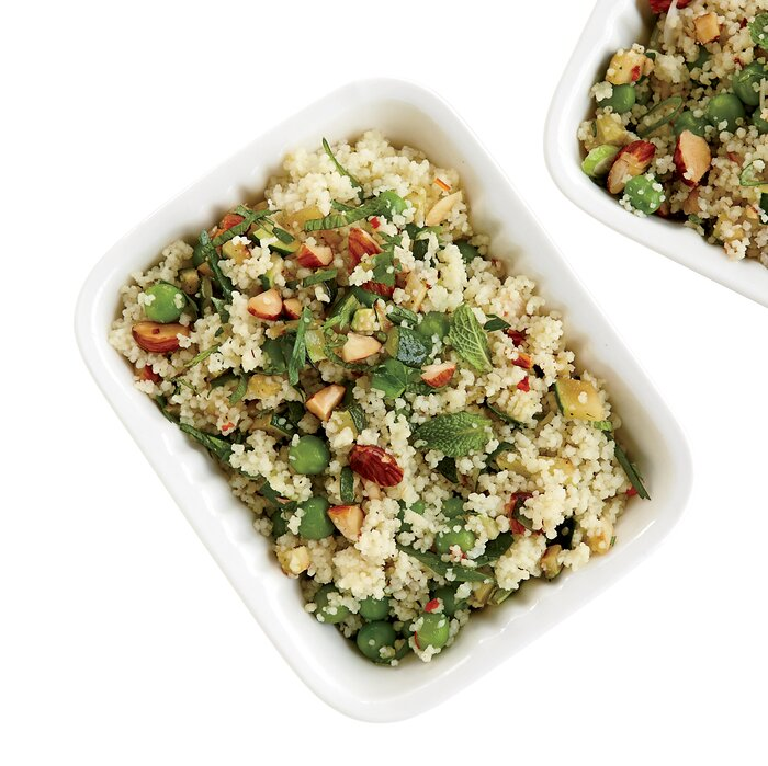 Coucous Salad Couscous salad with zucchini and roasted almonds recipe food wine 201105 r couscous saladg sisterspd