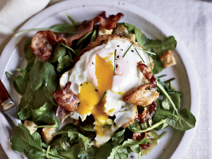 Warm bacon and egg salad recipe april bloomfield food wine 201110 r warm bacon and egg saladg forumfinder Image collections