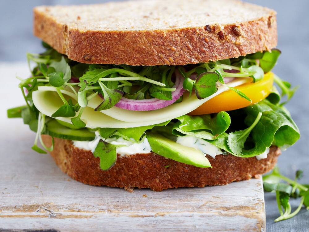 vegetable sandwich with dill sauce recipe quick from scratch