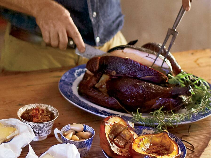 Wood smoked turkey recipe food wine forumfinder Image collections