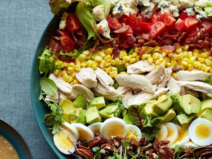 Southern cobb salad with roasted sweet onion dressing recipe shaun 30 summer salads to munch on this memorial day forumfinder Gallery