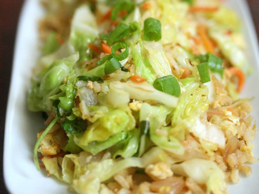 Cabbage fried rice recipe phoebe lapine food wine forumfinder Images