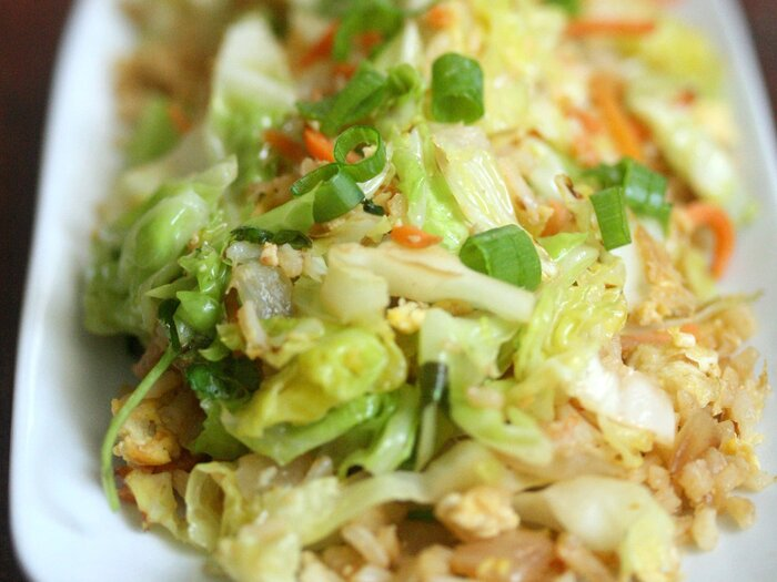 Cabbage fried rice recipe phoebe lapine food wine original 201310 r cabbage fried riceg forumfinder Images