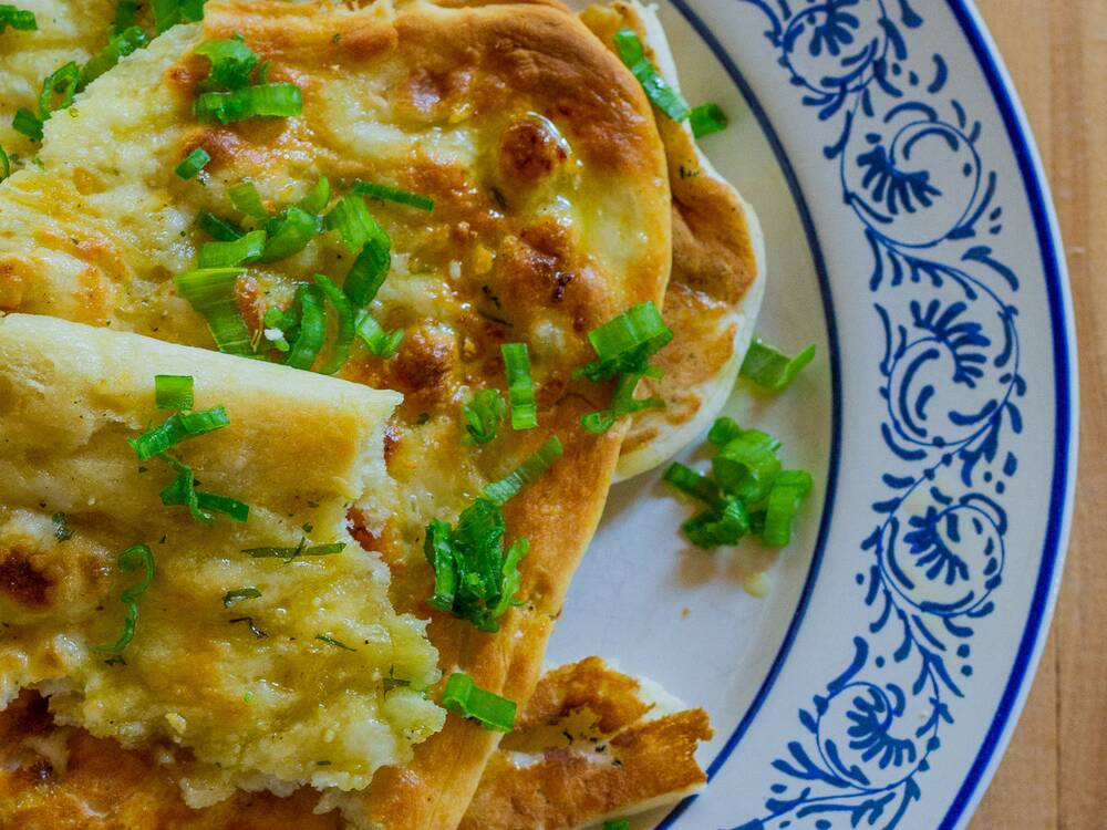 Green onion naan recipe emily farris food wine forumfinder Image collections