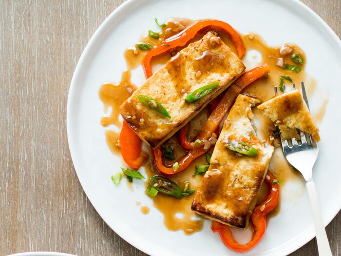 Tofu with bell peppers and spicy oyster sauce recipe todd porter original 201311 r tofu with bell peppers and forumfinder Gallery