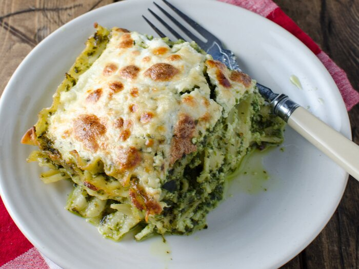 Fast and easy pesto lasagna recipe kristen stevens food wine 201404 r fast and easy pesto lasagnag forumfinder Choice Image