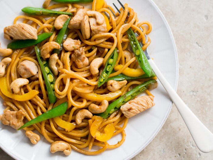 Cashew chicken chow mein recipe todd porter and diane cu food wine original 201403 r cashew chicken chow meing forumfinder Image collections