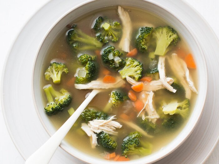 Chicken and broccoli soup recipe todd porter and diane cu food original 201403 r chicken broccoli soupg forumfinder Image collections