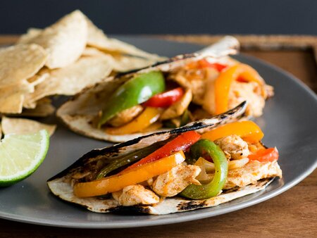 Chicken Fajitas With Bell Peppers Recipe Todd Porter And Diane Cu