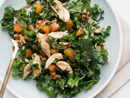 Healthy Chicken And Kale Salad Recipe Todd Porter And Diane Cu