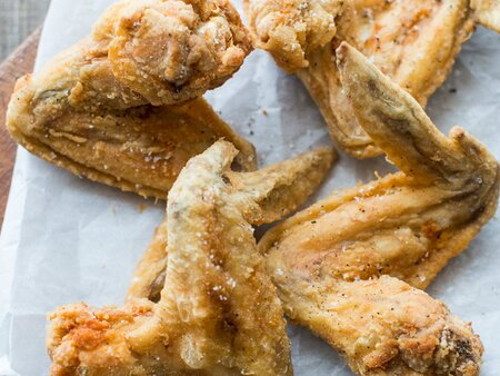 Crispy Chicken Wings Recipe Todd Porter And Diane Cu Food Wine