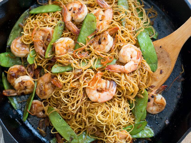 Shrimp chow mein recipe todd porter and diane cu food wine 201403 r shrimp chow meing forumfinder Image collections