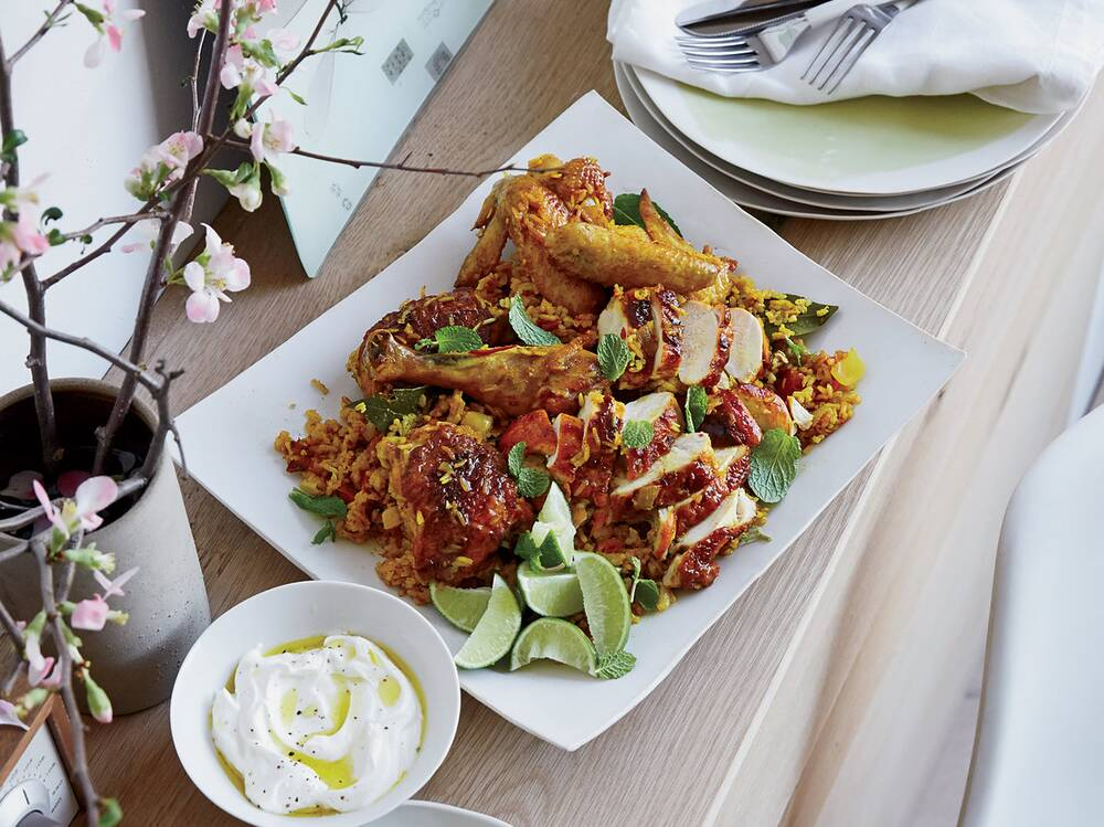 Turmeric chicken and rice recipe edward lee food wine forumfinder Image collections
