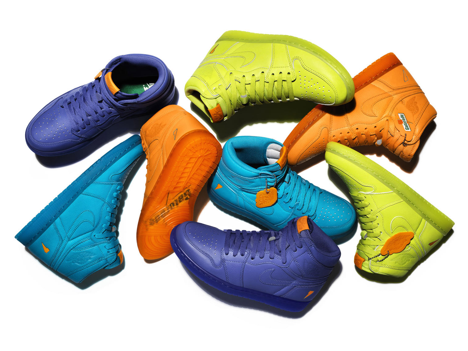 Nike S Gatorade Air Jordans Refresh The Classic Shoe Line With