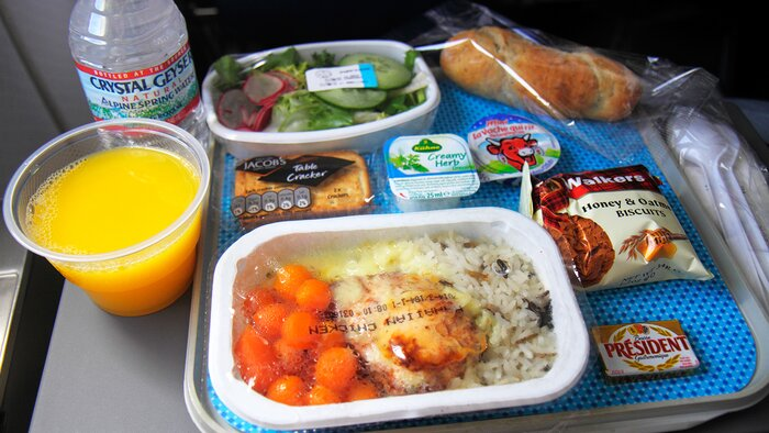 Would You Be Willing To Pre Order Airline Meals Reduce Waste