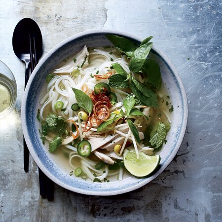Chicken Pho Recipe Jimmy Tu Food Wine