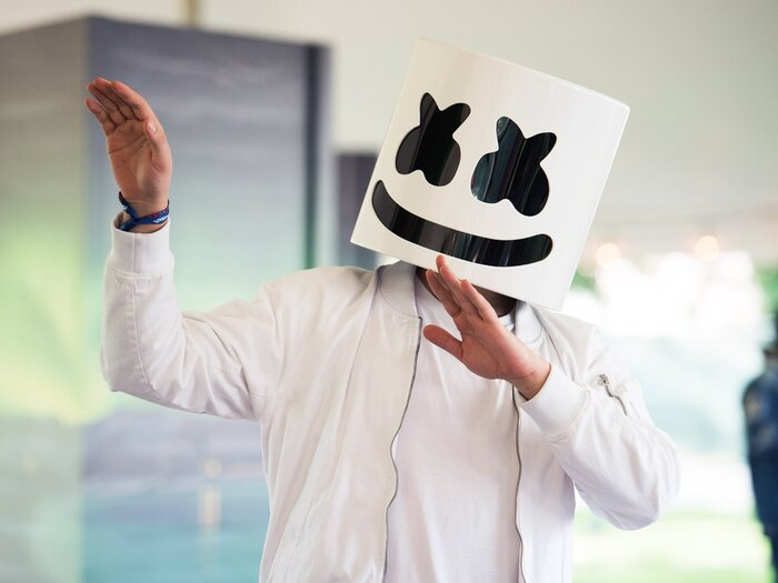 Electronic music dj marshmello has his own cooking show on youtube cooking with marshmello on youtube stopboris Gallery