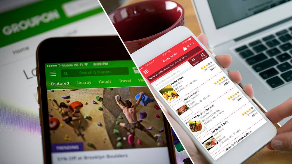Groupon Teams Up With Grubhub For Food Delivery Food Wine
