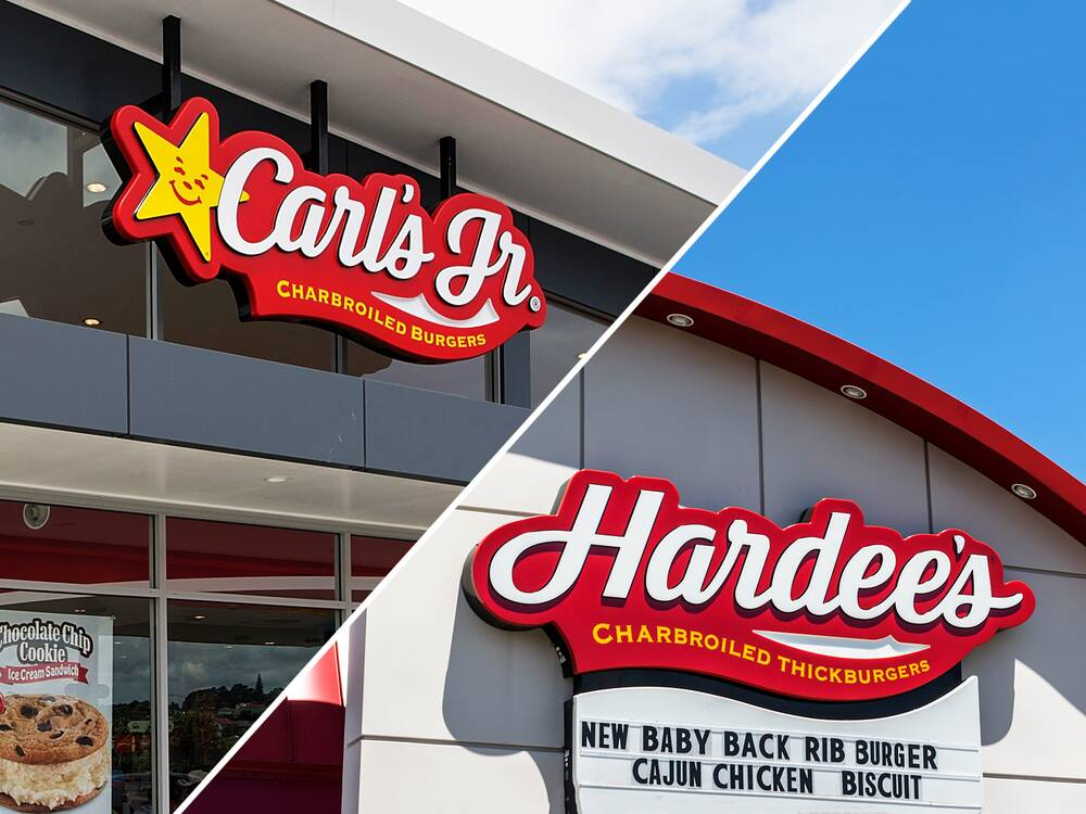 are carl s jr and hardees the same thing not for long food wine